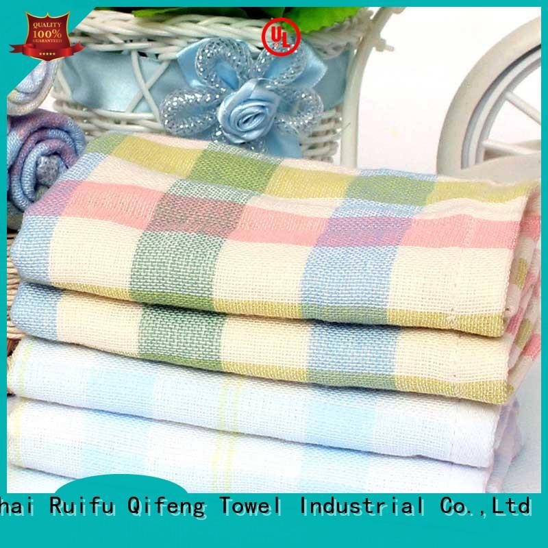 personalized bamboo hooded baby bath towel online for hospital Ruifu Qifeng