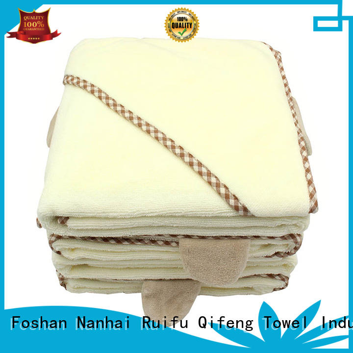 customized newborn baby towel qf010f457 manufacturer for home
