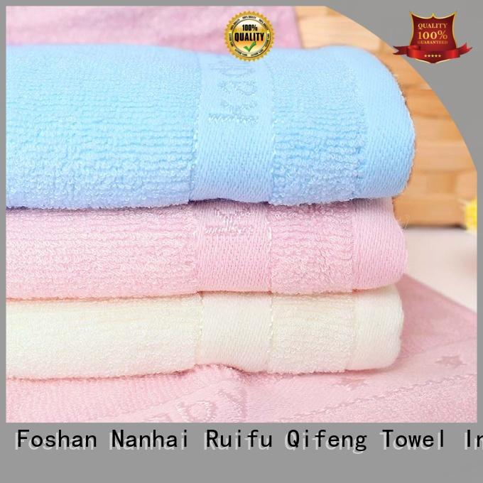 Ruifu Qifeng kids newborn hooded towel promotion for home
