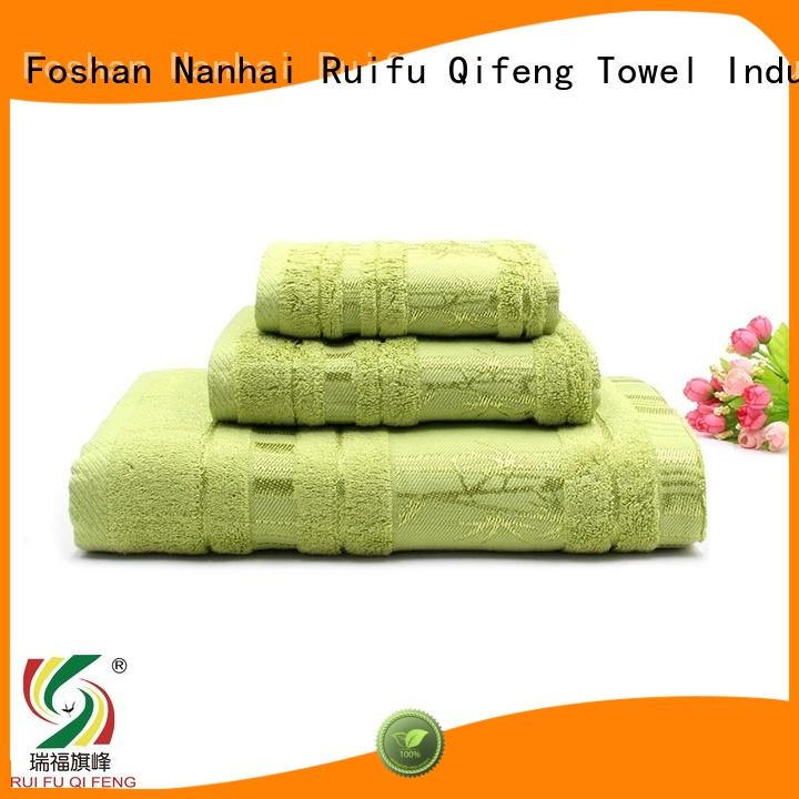 Ruifu Qifeng bamboo cotton towel set on sale for club