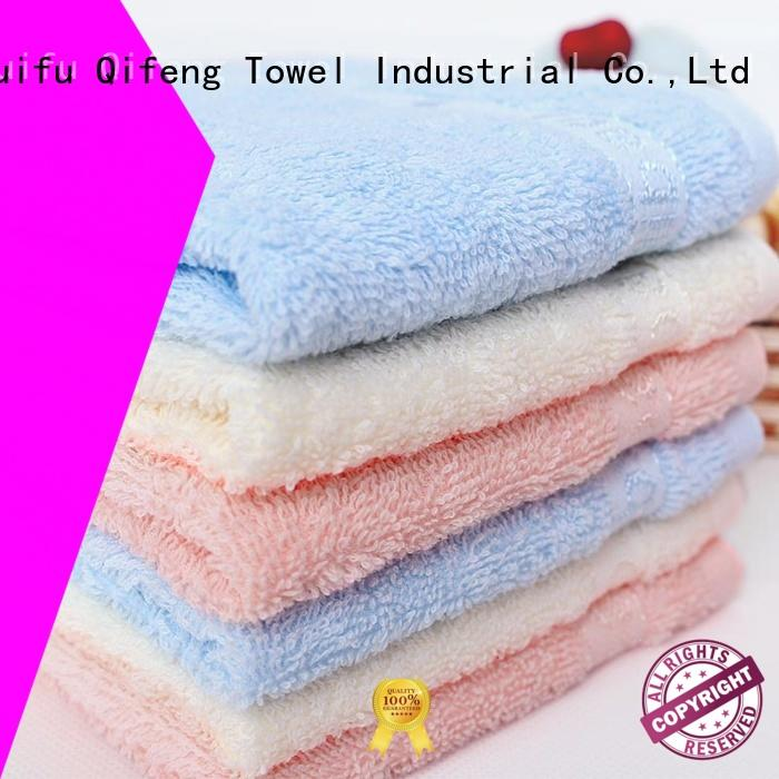 Ruifu Qifeng qf018a312 newborn baby towel manufacturer for hospital