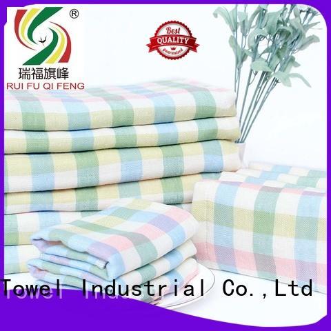 Ruifu Qifeng qf021a388 baby bath towels manufacturer for kindergarden