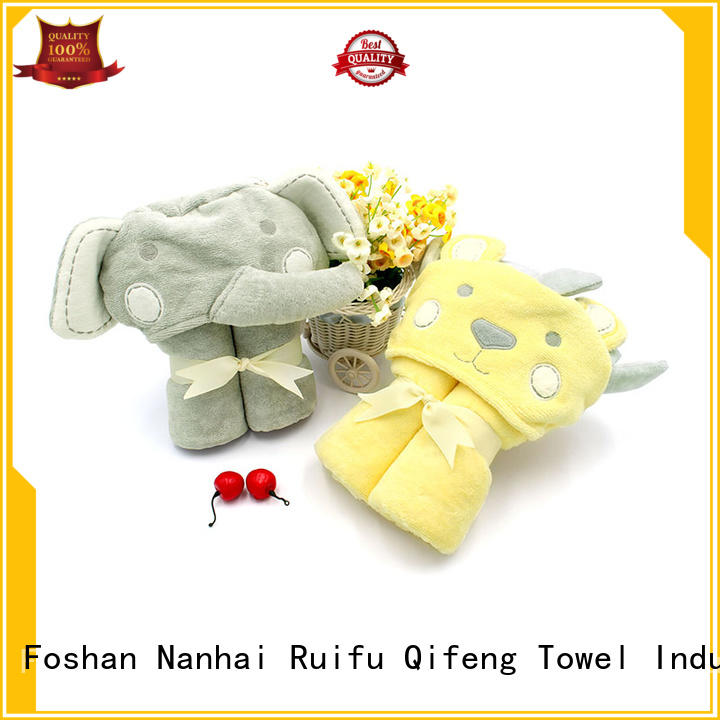 Ruifu Qifeng soft toddler bath towels online for kindergarden