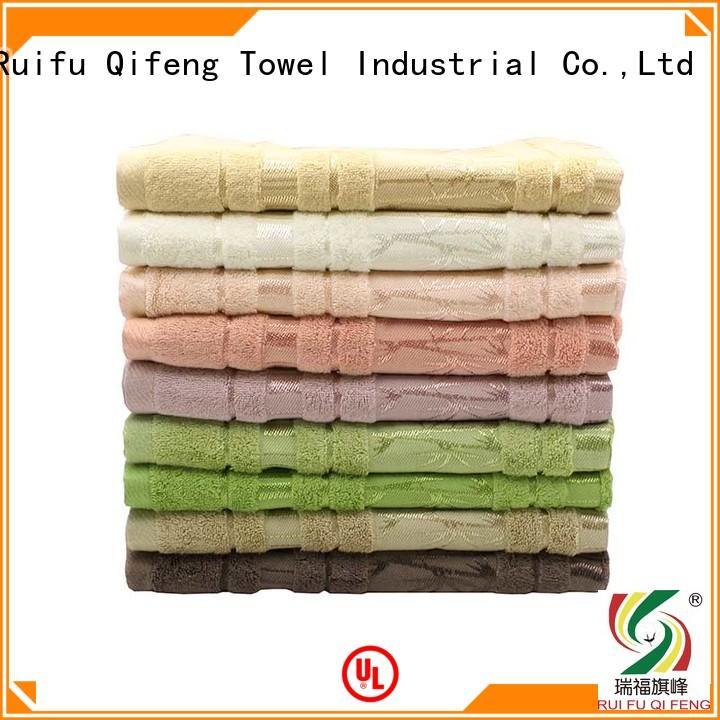 Ruifu Qifeng terry large bath towels sets for hospital