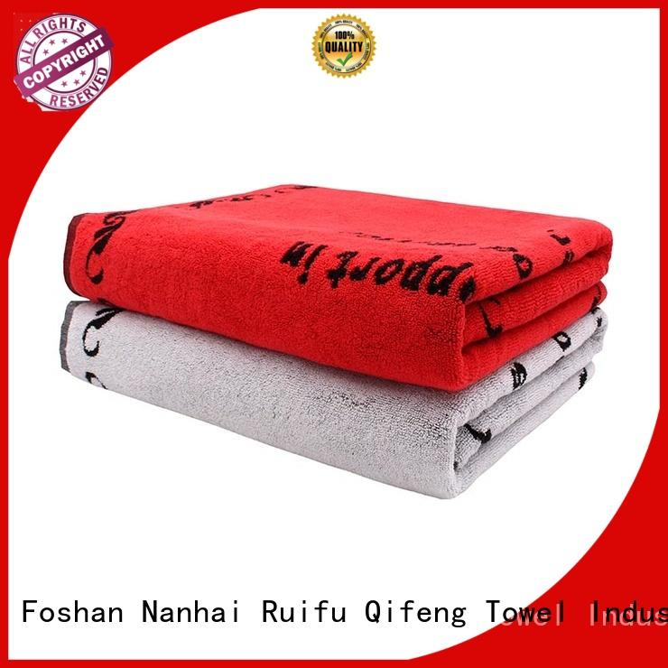 Ruifu Qifeng multi function custom beach towels promotion for swimming