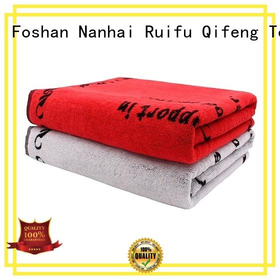 personalized hooded baby towels terry cotton large hooded towels for toddlers Ruifu Qifeng Brand