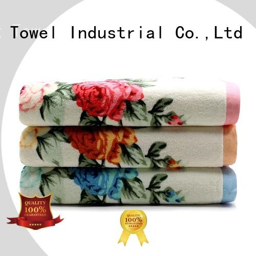 eco-friendly bath towel sets hotel supplier for beach