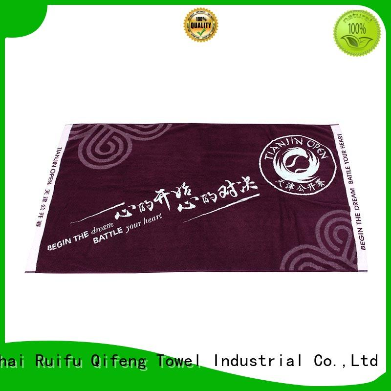 Ruifu Qifeng sports fast drying towels on sale for hotel