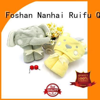 infant hooded towel qf019b722 for hotel Ruifu Qifeng