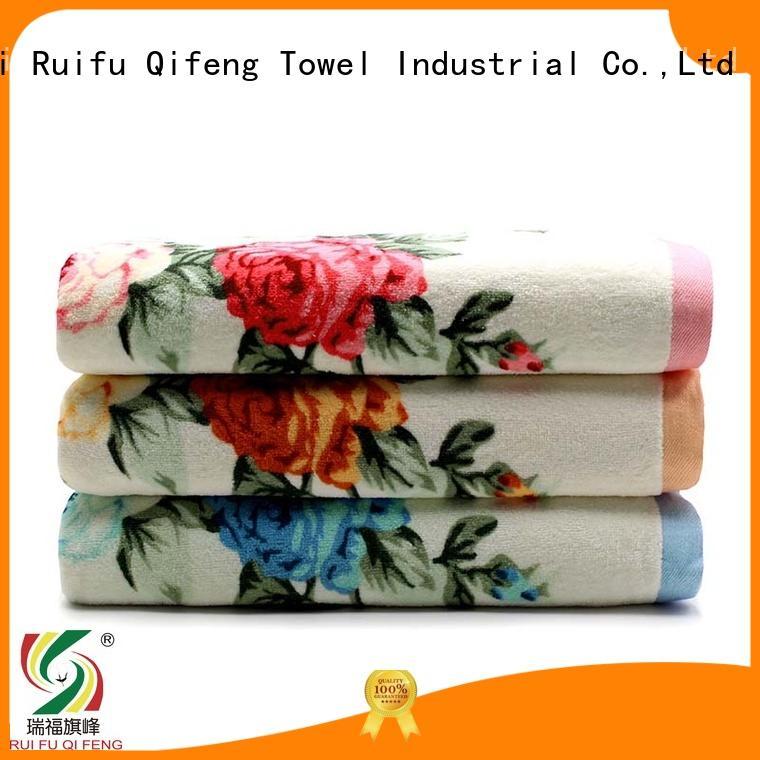 Ruifu Qifeng cotton towel set series supplier for hotel