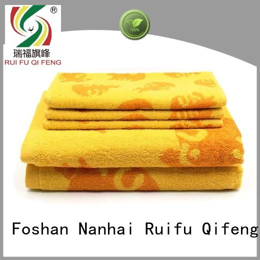 Ruifu Qifeng towel bath towel sets on sale for restaurant