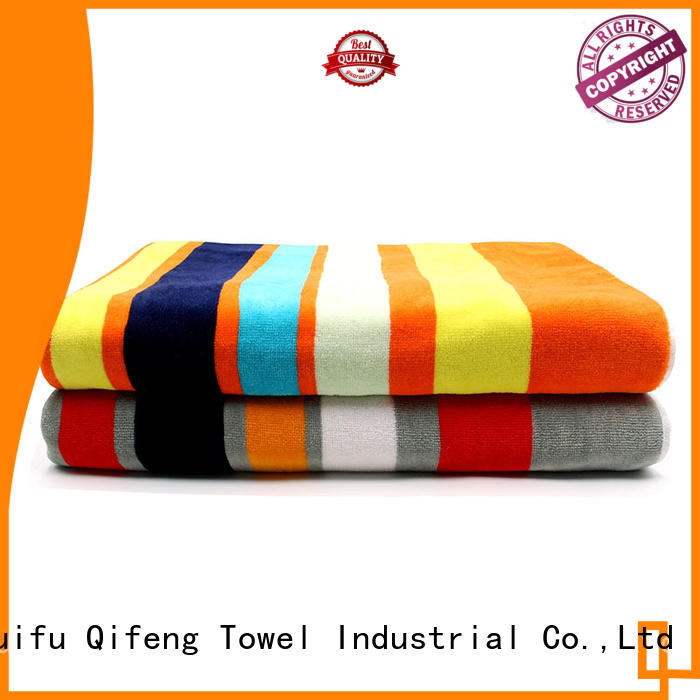 hand shower towel supplier for beach