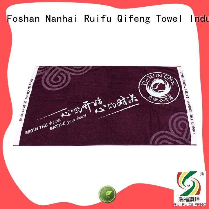 Ruifu Qifeng gym quick dry towels on sale for hotel