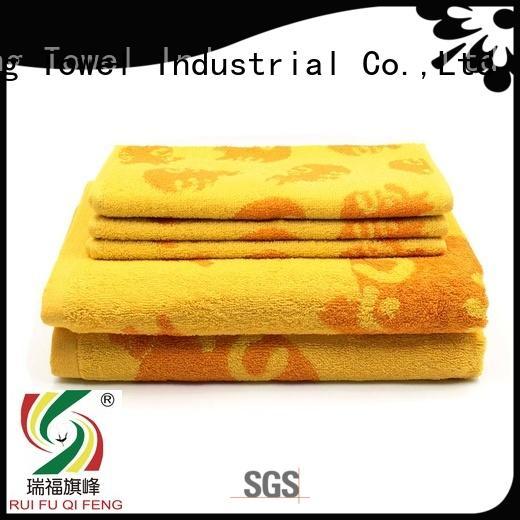 Ruifu Qifeng customized towel set series factory price for club