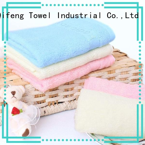 comfortable personalized baby towels qf020d894 promotion for hotel