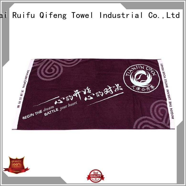 High-absorbent Cotton Customized Sports Towel