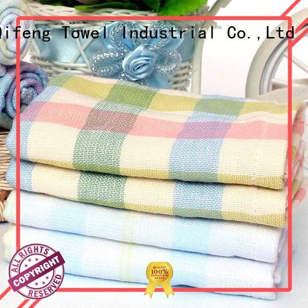 Ruifu Qifeng kids personalized baby towels manufacturer for home