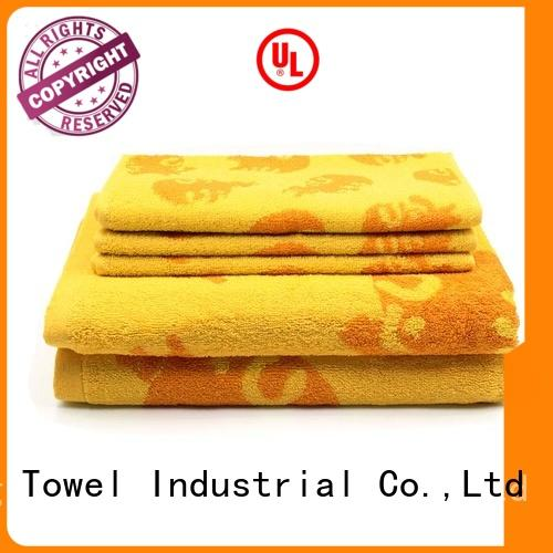 Cotton Customized Jacquard Bath Towel Set