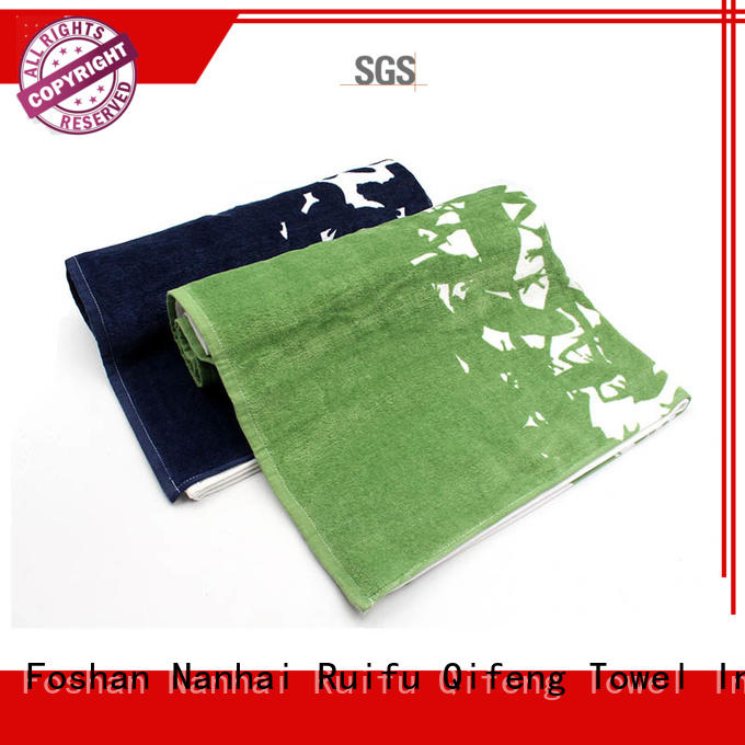 Ruifu Qifeng hand cotton bath towel online for restaurant