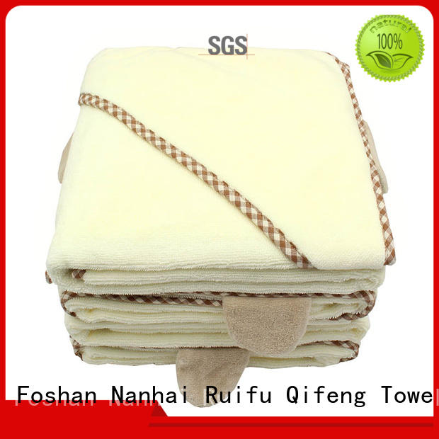 Ruifu Qifeng qf021a388 soft baby towels promotion for kindergarden