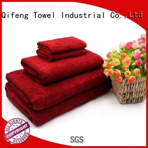 hand luxury towel set on sale for club
