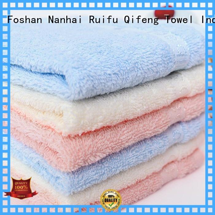 Ruifu Qifeng customized toddler bath towels supplier for hospital