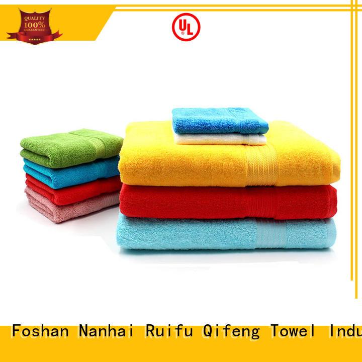 Ruifu Qifeng jacquard towel set series supplier for hospital