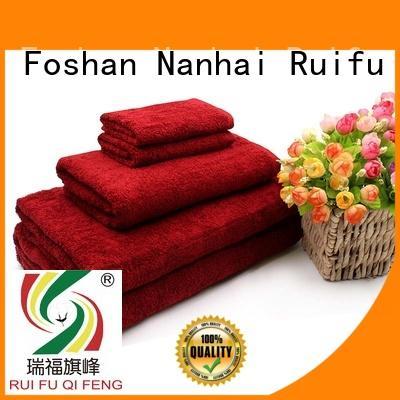 Ruifu Qifeng eco-friendly luxury towel set various for club