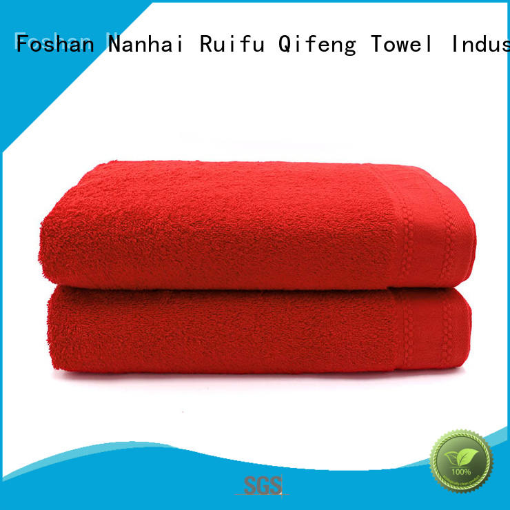 velour printing Ruifu Qifeng Brand personalized hooded baby towels