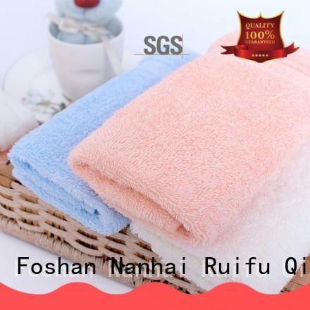 Ruifu Qifeng natural baby towel series design for kindergarden