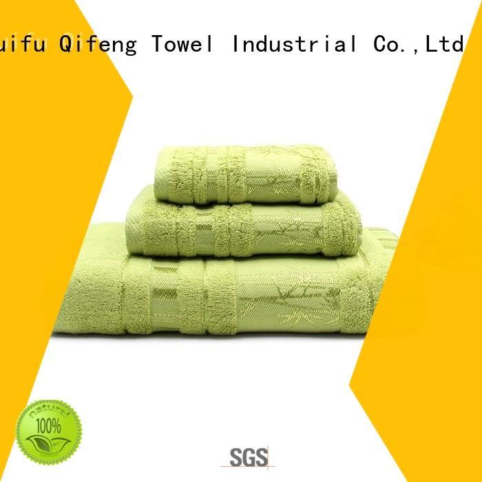 Ruifu Qifeng logo customized towel set online for hospital