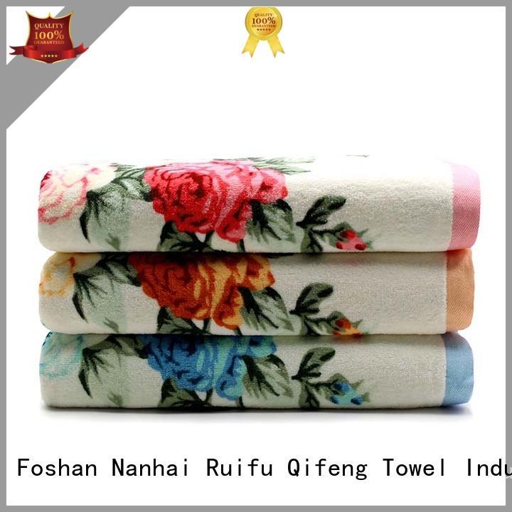 Ruifu Qifeng oem towel set series online for beach