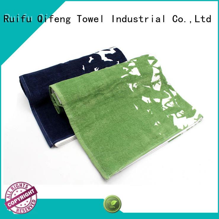 Ruifu Qifeng soft best quality bath towels online for hotel