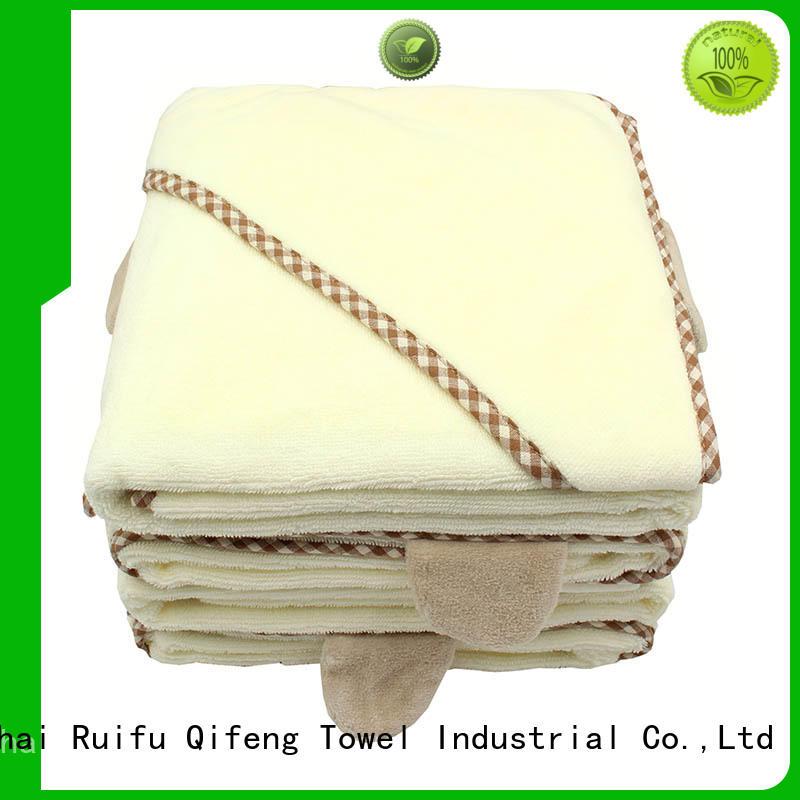 safe infant hooded towel qf016b823 supplier for kindergarden