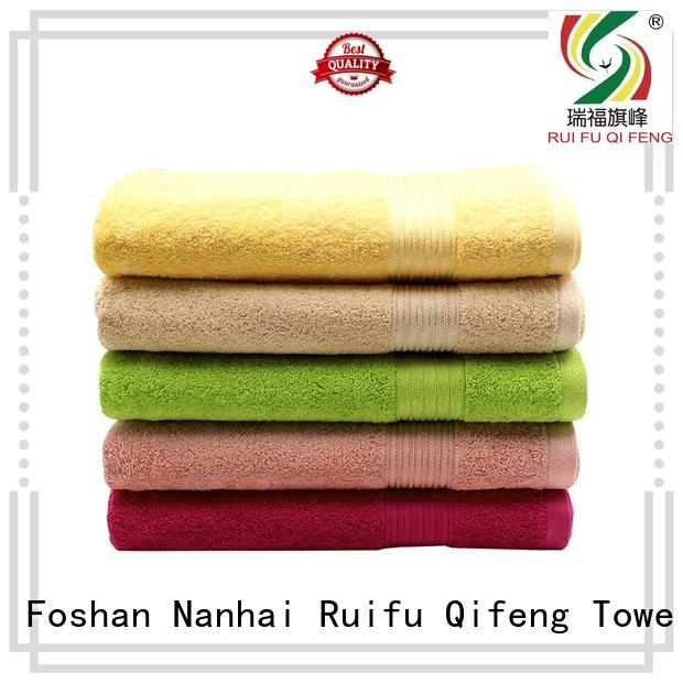 Ruifu Qifeng good quality best beach towels wholesale for swimming