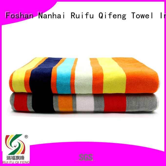 Ruifu Qifeng printing bath sheets sets for club