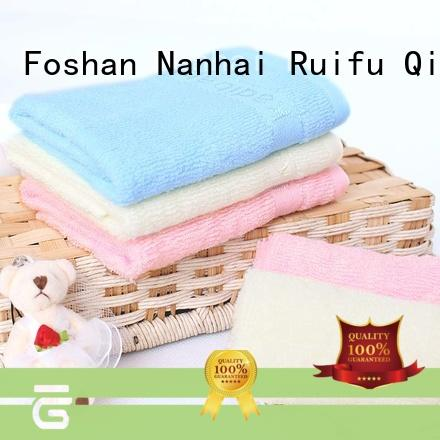Ruifu Qifeng soft baby bath towels manufacturer for hotel