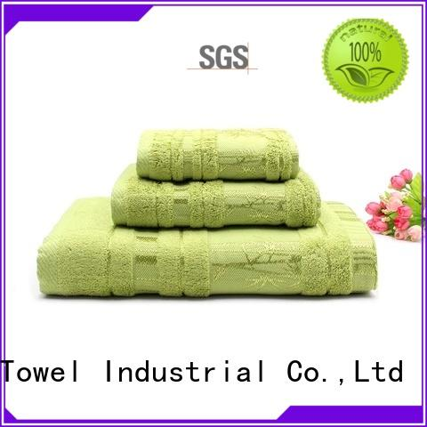 gsm towel set series factory price for beach