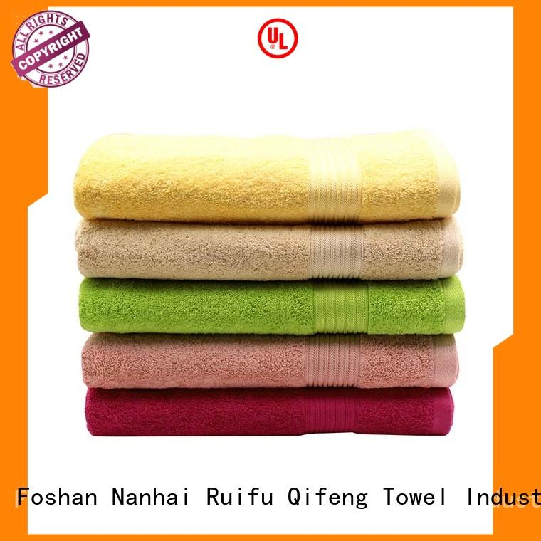 Ruifu Qifeng qf002d1212 custom beach towels promotion for beach