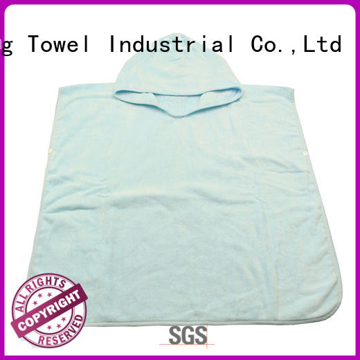 Ruifu Qifeng safe personalized hooded towel qf012f288 for hotel
