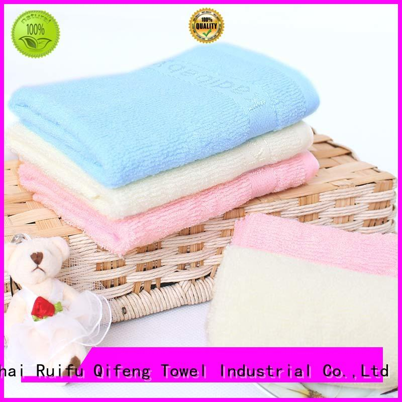 gauze personalized luxury beach towels hooded Ruifu Qifeng company