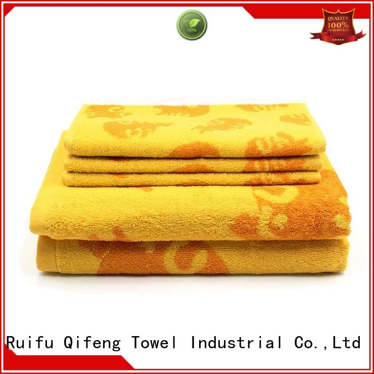 hand bath towel sets oem factory price for beach