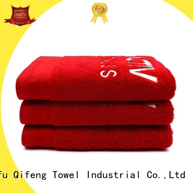 Ruifu Qifeng dyed best quality bath towels supplier for hospital