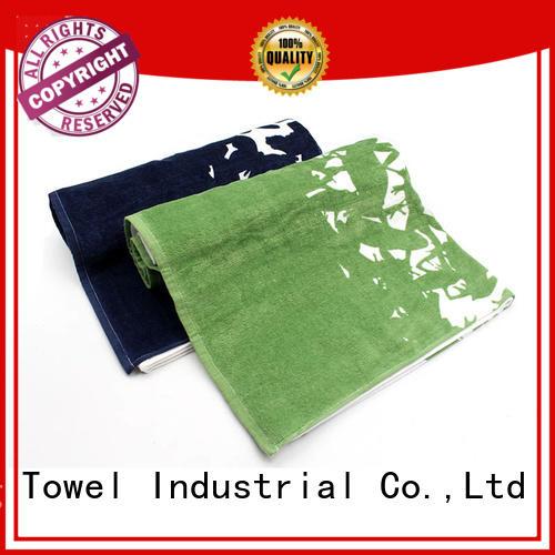 100% Cotton Printing Bath Towel - QF-007
