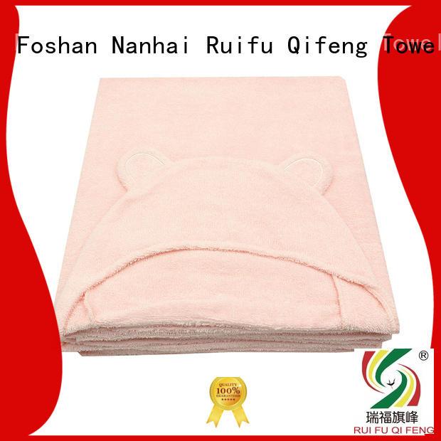 kids infant bath towels poncho design for kindergarden