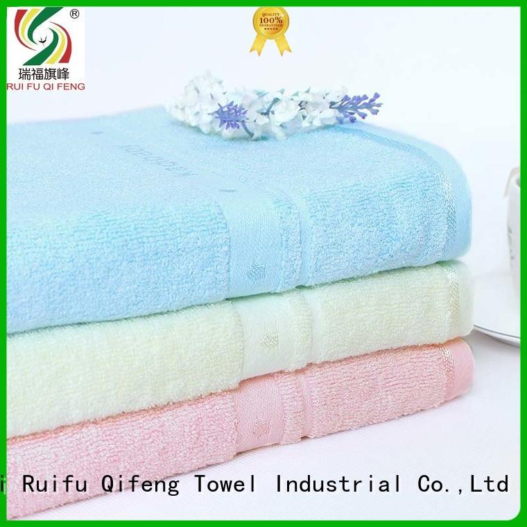 Ruifu Qifeng comfortable cute baby towels design for hospital