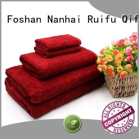 Ruifu Qifeng printed towel set series online for restaurant