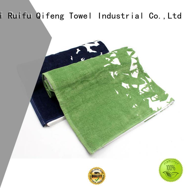 Ruifu Qifeng soft shower towel on sale for beach