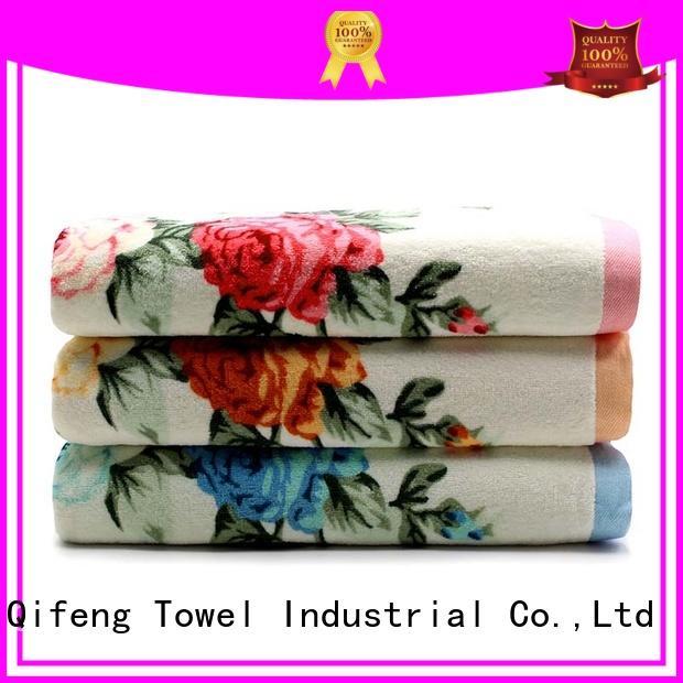 bath jacquard bath towel set towel for beach Ruifu Qifeng