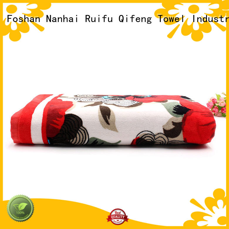 plain velour personalized hooded baby towels Ruifu Qifeng Brand